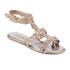 Melissa Women's Campana Barocca 16 Sandals - Rose: Image 2
