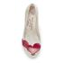 Vivienne Westwood for Melissa Women's Ultragirl 16 Ballet Flats - Pearl Red Cherub: Image 3