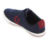 Converse CONS Men's Star Player Canvas Ox Trainers - Obsidian/Red Block/Black: Image 4