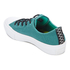 Converse Women's Chuck Taylor All Star II Shield Canvas Ox Trainers - Cool Jade/White/Aegean Aqua: Image 4