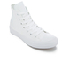 Converse Chuck Taylor All Star II Hi-Top Trainers - White/White/Navy: Image 2