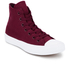 Converse Chuck Taylor All Star II Hi-Top Trainers - Deep Bordeaux/White/Navy: Image 2