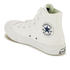 Converse Kids Chuck Taylor All Star II Tencel Canvas Hi-Top Trainers - White/White/Navy: Image 4