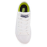 Converse Kids Chuck Taylor All Star II Tencel Canvas Ox Trainers - White/White/Navy: Image 3