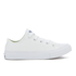 Converse Kids Chuck Taylor All Star II Tencel Canvas Ox Trainers - White/White/Navy: Image 1