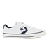 Converse CONS Men's Star Player Canvas Ox Trainers - White/Obsidian/Black: Image 1