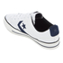 Converse CONS Men's Star Player Canvas Ox Trainers - White/Obsidian/Black: Image 4