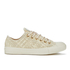 Converse Chuck Taylor All Star Denim Woven Ox Trainers - Parchment/Angora/Parchment: Image 1