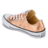 Converse Women's Chuck Taylor All Star Ox Trainers - Metallic Sunset Glow/White/Black: Image 4