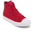 Converse Kids Chuck Taylor All Star II Tencel Canvas Hi-Top Trainers - Salsa Red/White/Navy: Image 2