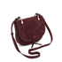 Elizabeth and James Women's Zoe Saddle Bag - Bordeaux: Image 3