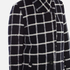 Maison Scotch Women's Bonded Wool Coat In Checks & Solids - Multi: Image 5