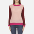 Maison Scotch Women's Fluffy Crew Neck Jumper - Multi: Image 1