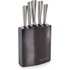 Morphy Richards 974814 Accents 5 Piece Knife Block - Black: Image 1