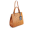 Orla Kiely Women's Willow Box Leather Tote Bag - Tan: Image 3