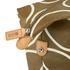 Orla Kiely Women's Linear Stem Print Zip Shopper Bag - Camel: Image 5
