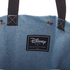 Herschel Supply Co. Packable Travel Disney Tote Bag - Denim/Black Webbing: Image 5