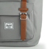 Herschel Supply Co. Little America Backpack - Grey/Tan Synthetic Leather: Image 4