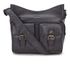 Barbour Women's Slateford Leather Shoulder Bag - Black: Image 1