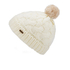 Barbour Women's Fur Pom Beanie - Snow: Image 2