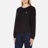 Polo Ralph Lauren Women's Crew Neck Logo Sweatshirt - Polo Black: Image 2