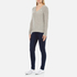 Polo Ralph Lauren Women's Kimberly Cashmere Blend Jumper - Light Vintage Heather: Image 4