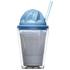Sagaform Sweet Plastic Milkshake Cup 350ml - Blue: Image 3