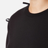 Sportmax Women's Zeda Bow Sleeve Sweatshirt - Black: Image 5