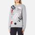 Sportmax Women's Texas Embroidered Sweatshirt - Medium Grey: Image 2