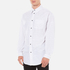 Alexander Wang Men's Relaxed Fit Casual Shirt with Label - White: Image 2