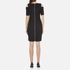 MICHAEL MICHAEL KORS Women's Structured Cut Out Dress - Black: Image 3