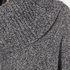 MICHAEL MICHAEL KORS Women's Cowl Neck Poncho - Grey: Image 5