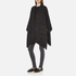 MICHAEL MICHAEL KORS Women's Twill Blanket Poncho - Grey: Image 3