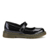 Dr. Martens Kids' Maccy Patent Lamper Mary Jane Shoes - Black: Image 1