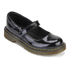 Dr. Martens Kids' Maccy Patent Lamper Mary Jane Shoes - Black: Image 2