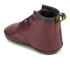Dr. Martens Baby Auburn Crib Lace Booties - Cherry Red: Image 4