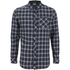 Craghoppers Men's Brigden Long Sleeve Shirt - Storm Navy Check: Image 1