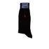 Polo Ralph Lauren Men's 3 Pack Socks - Dot Black: Image 4