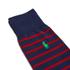Polo Ralph Lauren Men's 3 Pack Socks - Dot Navy: Image 3