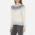 Samsoe & Samsoe Women's Vaga O Neck Jumper - Clear Cream: Image 2