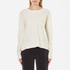 Samsoe & Samsoe Women's Albi O Neck Jumper - Clear Cream: Image 1