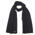 Lacoste Men's Ribbed Scarf - Navy Blue: Image 1