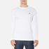 Lacoste Men's Long Sleeved Crew Neck T-Shirt - White: Image 1