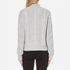 Gestuz Women's Sanni Pullover Grey Cable Knit Jumper - Grey: Image 3