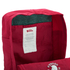 Fjallraven Re-Kanken Backpack - Red: Image 5