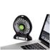 iTek I40001 Rechargeable 4 Inch Desk Fan - Black: Image 4