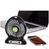 iTek I40001 Rechargeable 4 Inch Desk Fan - Black: Image 3