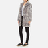 Karl Lagerfeld Women's Soft Curly Faux Fur Coat - Grey: Image 2