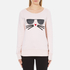 Karl Lagerfeld Women's Kocktail Choupette Sweatshirt - Rose Smoke: Image 1