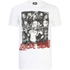 DC Comics Mens Suicide Squad Harley Quinn and Squad T-Shirt - Wit: Image 1